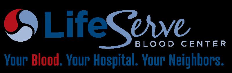 LifeServe Blood Center Logo
